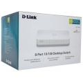 Hub Switch D-LINK 8 Port DES-1008C